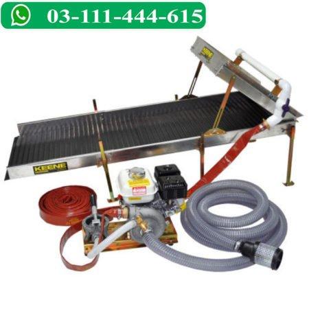 4 HP Beach Prospector Power Sluice & Combination Assembly