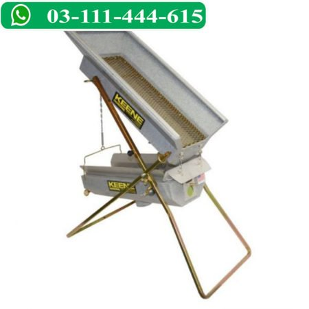 Vibrostatic Back Pack Dry Washer