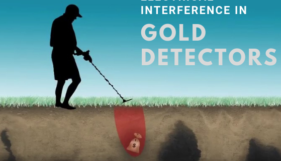 Electrical Interference in Gold Detectors